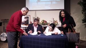 BookSigning Shyam And Sarojini Kanagala