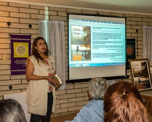 Light Center - El Paso Book Signing - Norma Angelica Bustillos - Introduces Shyam and Sarojini
